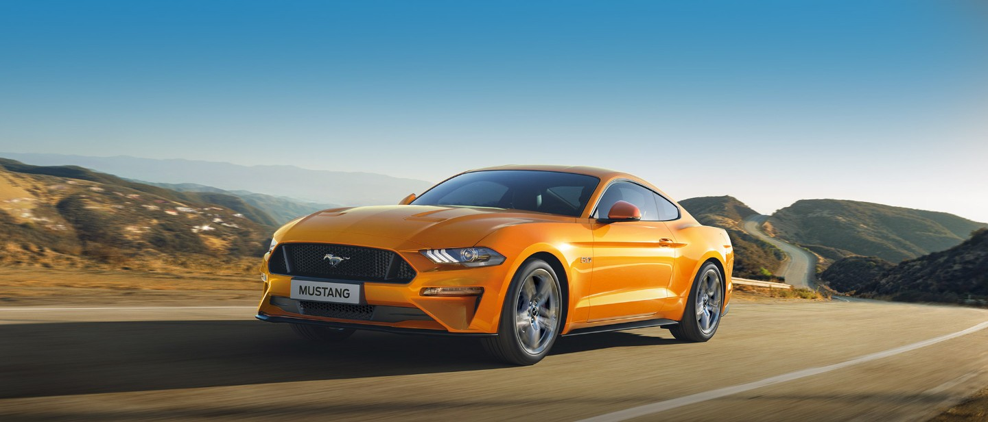 Noul ford mustang 2019 ford ro